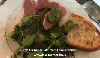 Salat vom Feinkost Käfer im Lola Montez Haus